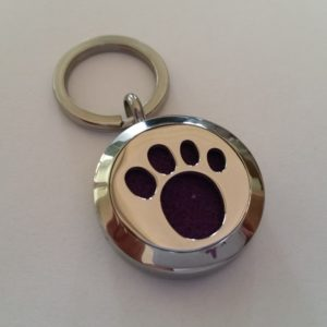 Paw pet diffuser tag